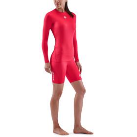 Skins Series-1 LS Top Women, rojo